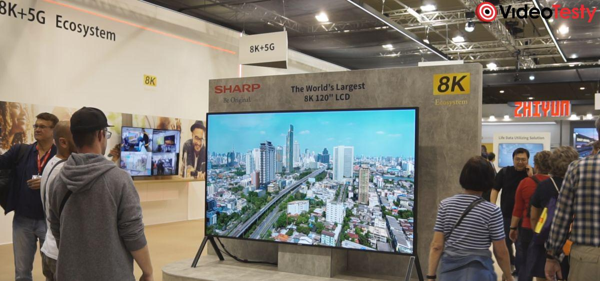 120-calowy telewizor Sharp z IFA 2019