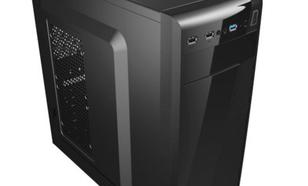 AeroCool PGS CS-1101 BLACK/USB3/ SLIM