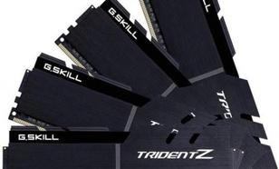 G.Skill Trident Z DDR4, 4x8GB, 3733MHz, CL17 (F4-3733C17Q-32GTZKK)