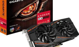 Gigabyte Radeon RX 580 GAMING 4GB GDDR5 (256 bit), DVI-D, HDMI, 3xDisplayPort, BOX (GV-RX580GAMING-4GD)