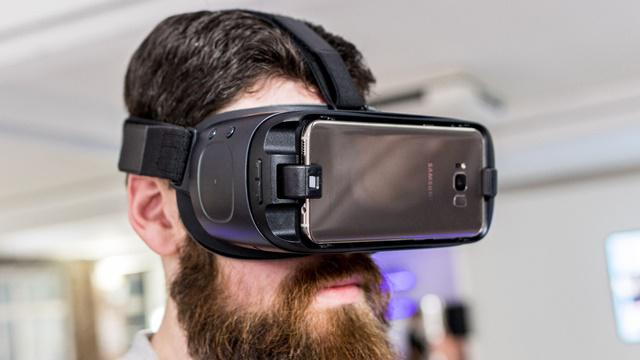 Samsung S8 plus Gear VR