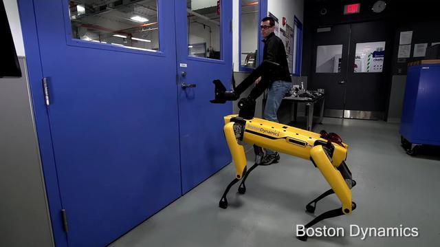 Robot od Boston Dynamics Znowu w Akcji