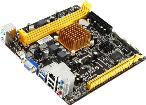 Biostar A68N-2100, APU E-2100, DDR3-800-1600, HDMI., SATA3, MINI ITX