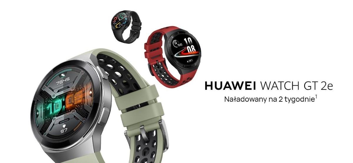Ładowanie Huawei Watch GT 2e