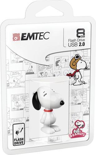 EMTEC Pendrive 8GB Snoopy Peanuts PN100