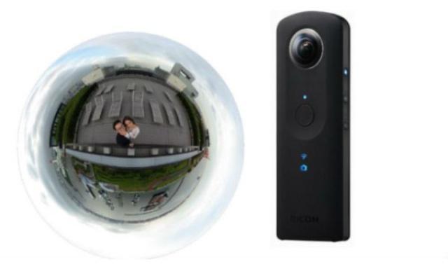 RICOH THETA S 360° - Ciekawa Kamera Sferyczna