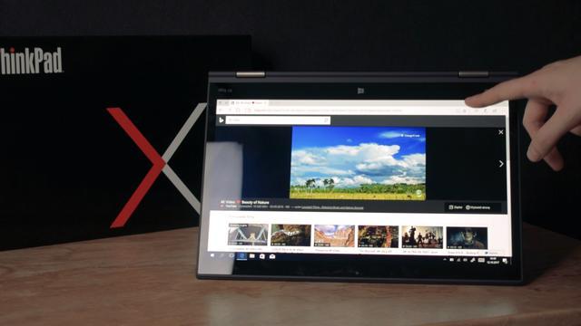 Lenovo Yoga X1 v2 w trybie tabletu