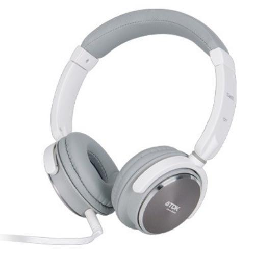 TDK Słuchawki z mikrofonem ST460S białe