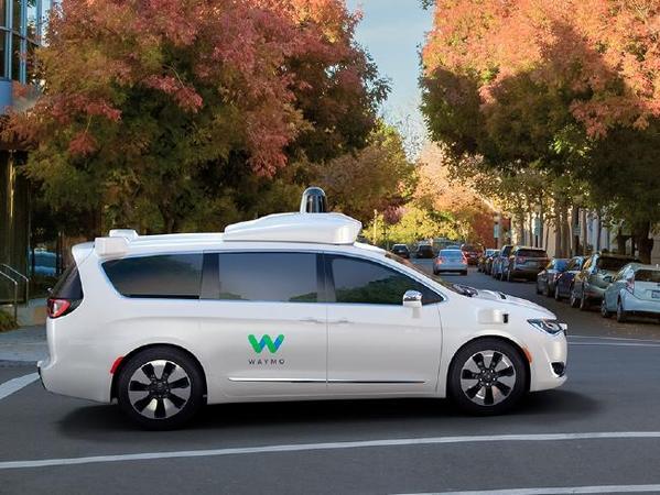 Autonomiczny pojazd Google i Chryslera