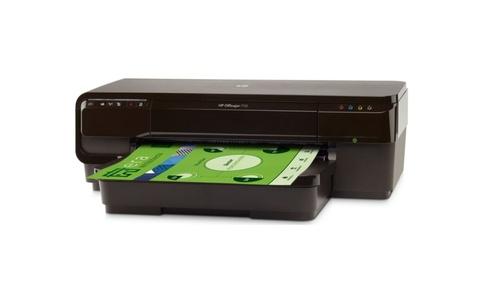 HP OFFICEJET 7110 (CR768A) na białym tle
