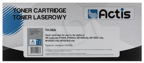Actis TH-36A czarny toner do drukarki laserowej HP (zamiennik 36A CB436A) Standard