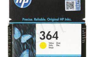 HP Tusz Żółty HP364=CB320EE, 300 str., 3 ml