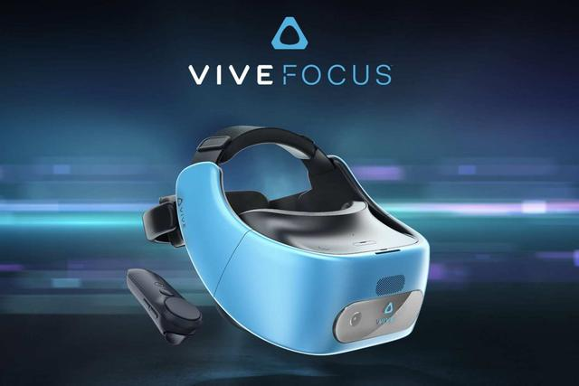 Tak prezentują się gogle VR od HTC.