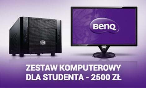 Zestaw Komputerowy Dla Studenta - 2500 zł