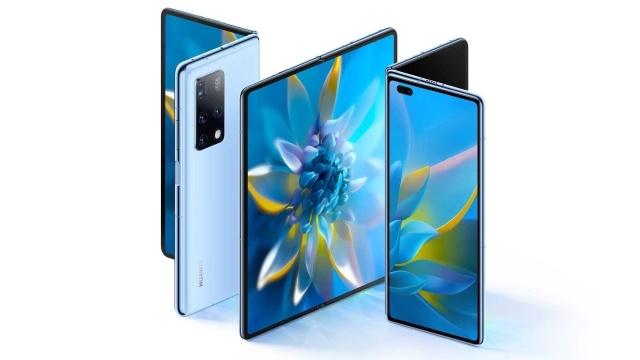 Huawei Mate X2 jest podobny do Samsunga Galaxy Z Fold 2