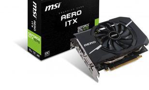 MSI GeForce GTX 1070 AERO ITX OC 8GB GDDR5 (256 Bit) DVI-D, 2xHDMI, 2xDP, BOX (V330-090R)