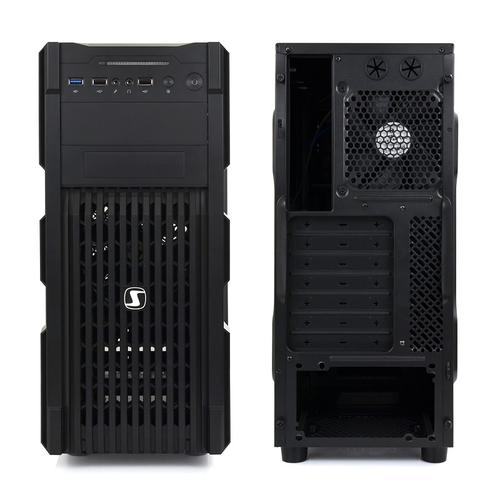 SilentiumPC Gladius M20 Pure Black USB3.0 ATX/SSD ready/2x120 mm