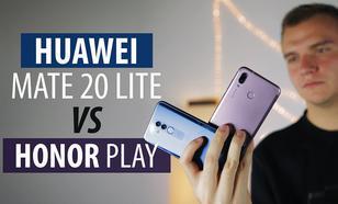 Huawei Mate 20 Lite vs Honor Play - Który lepszy za 1500 zł?