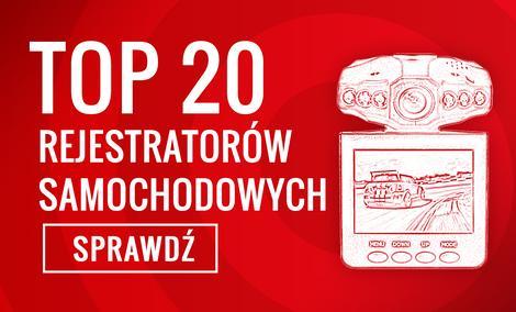 TOP 20 Rejestratorów Samochodowych - Sprawdź Najpopularniejsze Modele!