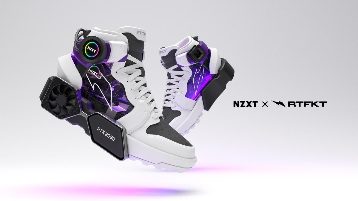 Buty RTFKT powstały we wspołpracy z NXZT