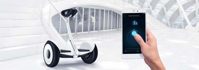 Ninebotem można sterować przez Bluetooth