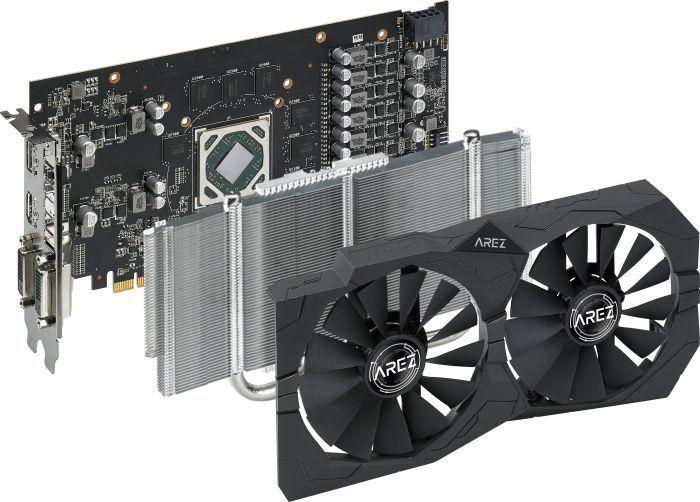 Asus Radeon RX 570 AREZ STRIX 4G OC (AREZ-STRIX-RX570-O4G-GAMING)