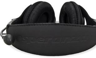 ESPERANZA Słuchawki stereo z mikrofonem i regulacją głośności EH101