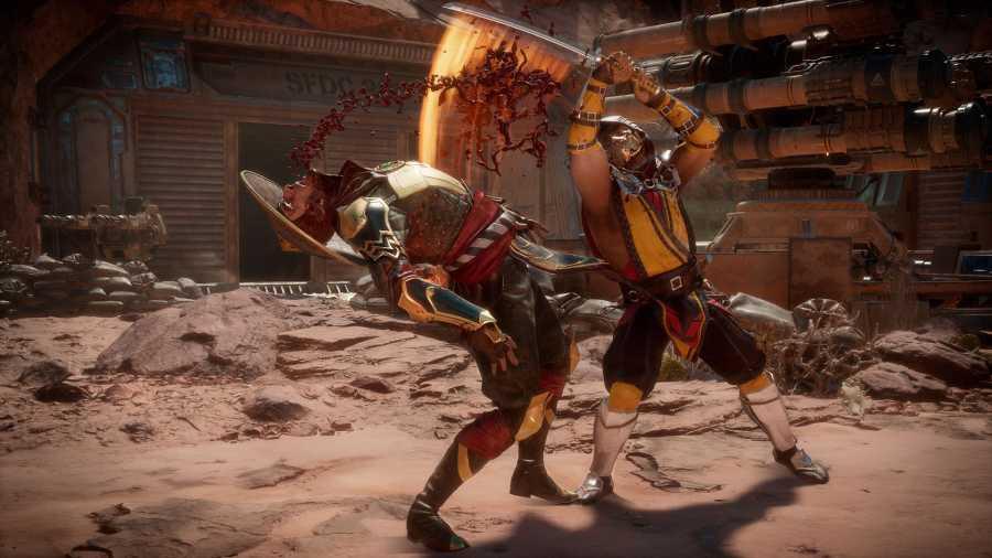 Mortal Kombat 11 - Walka