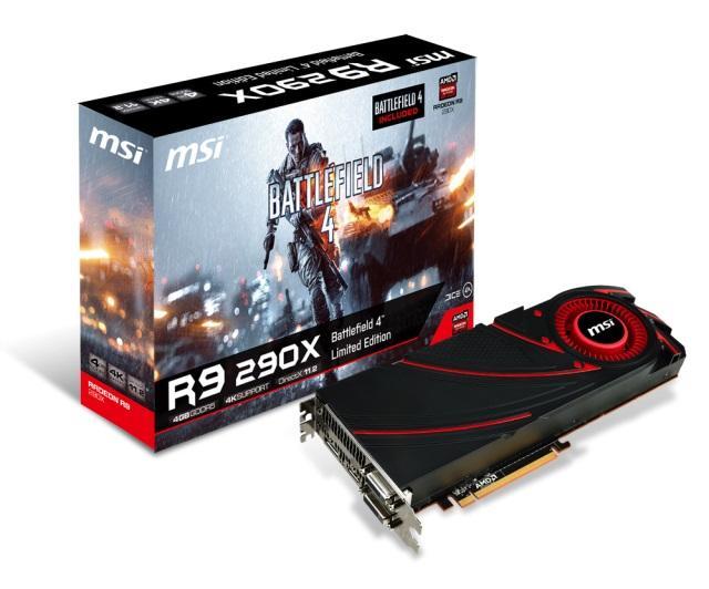Teraz kupując kartę graficzną MSI Radeon R9 otrzymamy Battlefielda 4 w prezencie!