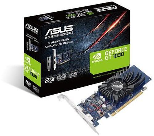Asus GT 1030 LP 2GB GDDR5 (64 bit), HDMI, DisplayPort, BOX