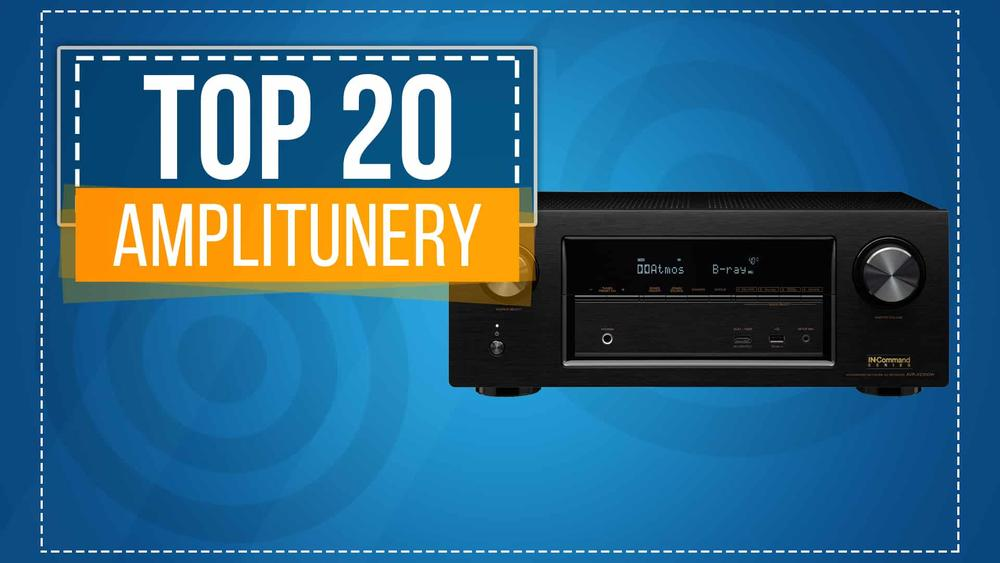TOP 20 Amplitunerów - Najlepszy Domowy Sprzęt Audio