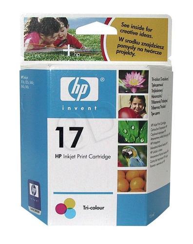 HP Tusz Kolor HP17=C6625A, 430 str., 15 ml