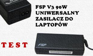 FSP Fortron FSP-NB V3 test uniwersalnego zasilacza do laptopów
