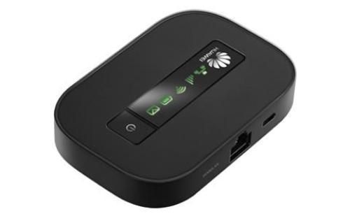 WEL.COM Huawei E5151s-2 router 21/5.76 Mbps Hot Spot przenosny router WiFi/LAN z wbudowanym modemem HSPA+ oraz bateria, 1x port