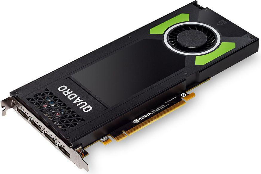 HP NVIDIA Quadro P4000, 8GB GDDR5 (256 Bit), 4xDisplayPort (1ME40AA)