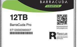 Seagate BarraCuda Pro 12TB SATA (ST12000DM0007)