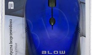Blow bezprzewodowa optyczna MB-10 1600dpi niebieski