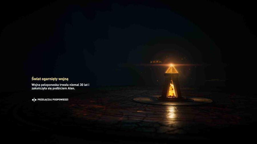 Assassin's Creed Odyssey - Ekran ładowania