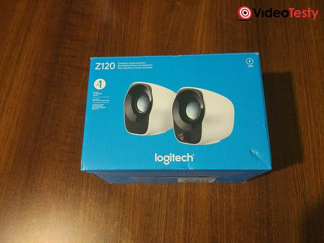 Logitech Z120 pudełko