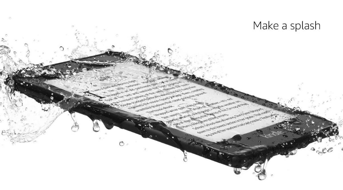 Kindle Paperwhite 4 wodoodporność