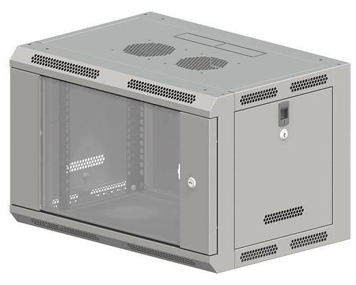 ALAN Szafa wisząca 9U 600x600 SW-9U-600-600-N