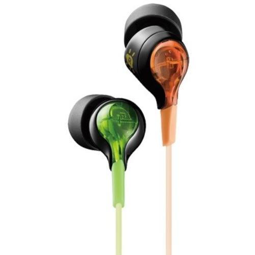 TDK Słuchawki SIE20 Glow in the Dark pomarańczowo-zielone