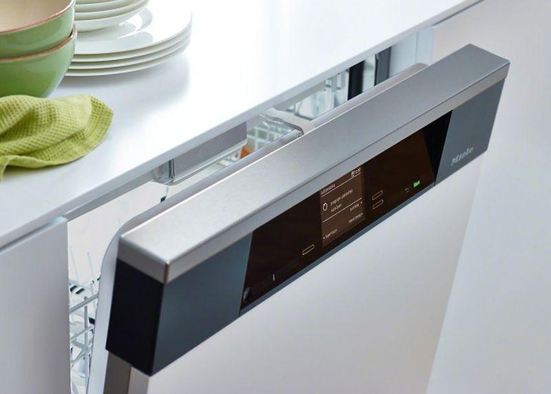 nowoczesna zmywarka w kuchni
