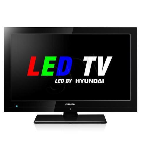 HYUNDAI LLF24814MP4 ( Full HD LED; tuner MPEG4; tryb hotelowy; USB z możliwością czytania XviD; MKV; AVI; MPEG )