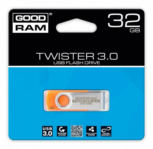 GoodRam TWISTER ORANGE 32GB USB3.0
