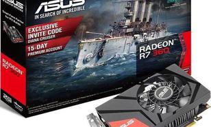 Asus Radeon R7 360 Mini 2GB GDDR5 (128 Bit) HDMI, DVI, DP, BOX (90YV09U0-M0NA00)