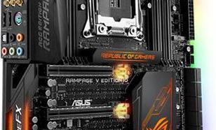 Asus RAMPAGE V EDITION 10, X99, QuadDDR4-2133, SATA3, M.2, USB 3.1, E-ATX
