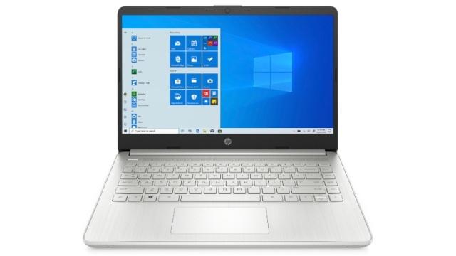 Laptop HP 14s to nieco mniejsza jednostka