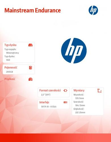 HP 200GB 6G SATA ME 2.5 SC EM SSD 691864-B21
