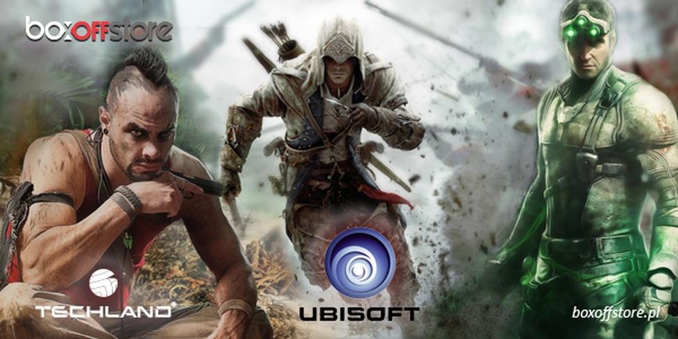 Gry Ubisoftu od teraz dostępne w BoxOff